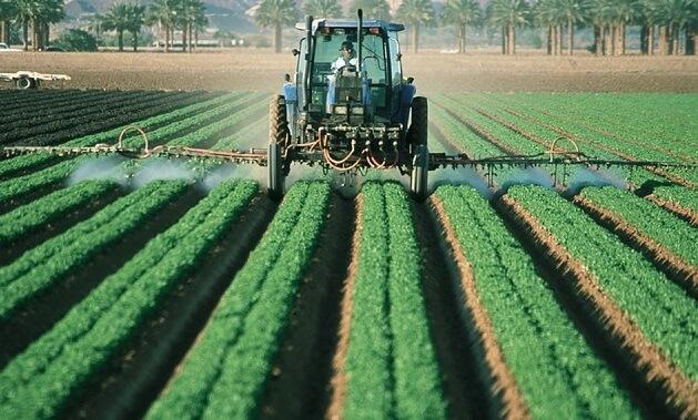 Roundup pesticide spray