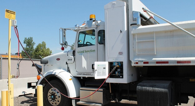 Alternative energy powered trucks