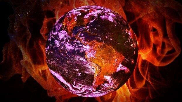 Earth warming temperature record