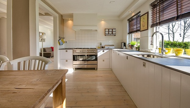 Green and eco-friendly kitchen