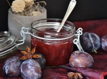 Balsamic plum jam recipe