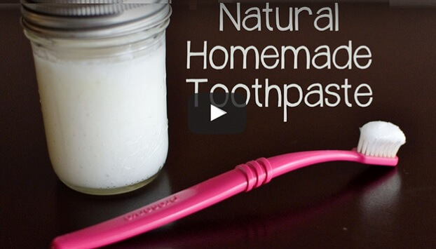Natural Homemade Toothpaste Recipe