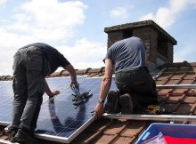 DIY solar panel array